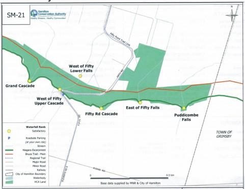 Grand Cascade map-Road-area (1)