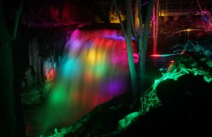 Great Falls illumination
