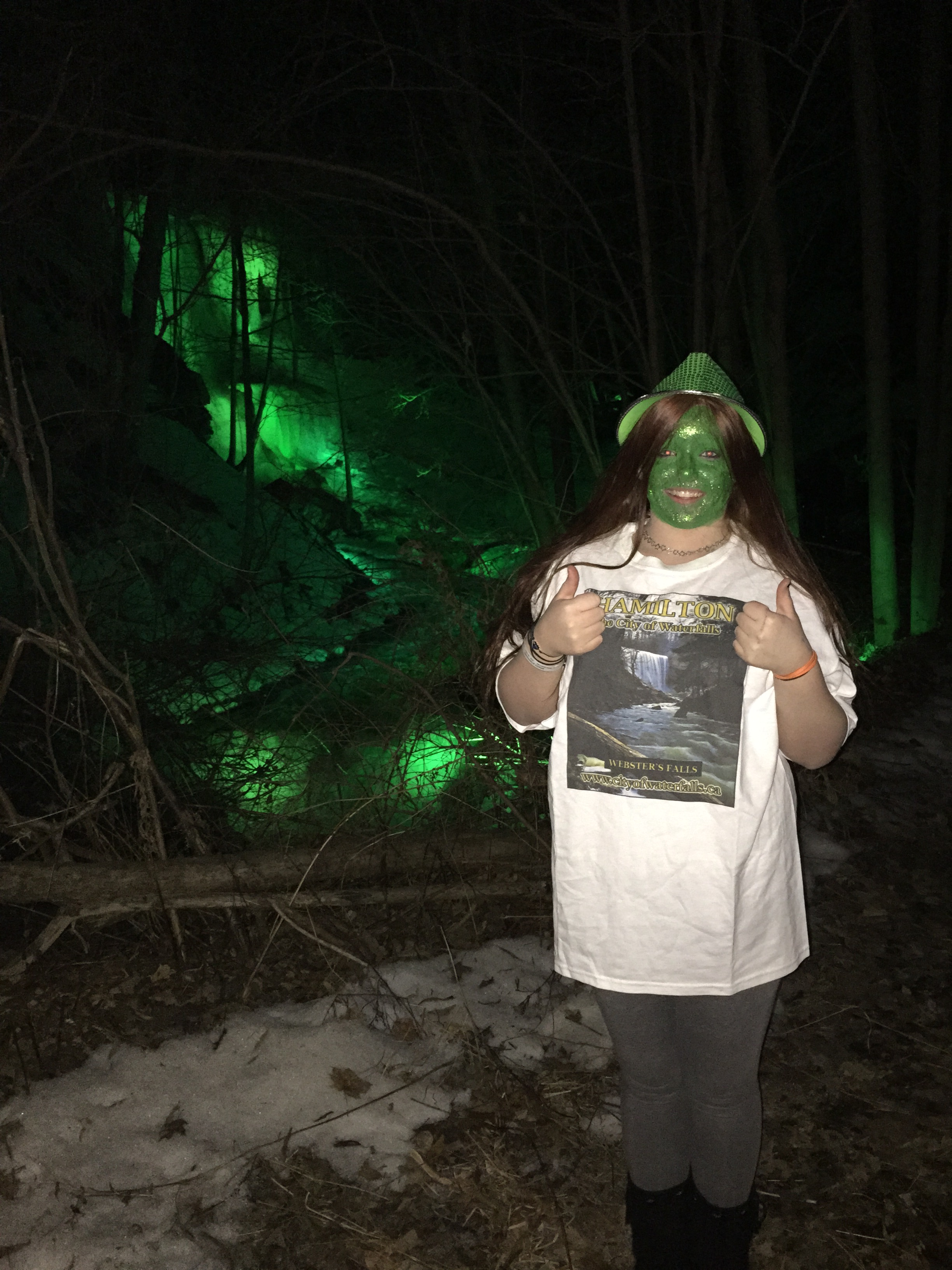 Tonights winner of our City of Waterfalls t-shirt!!!