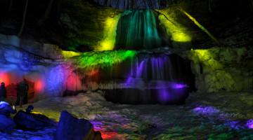 Sherman Falls Illumination