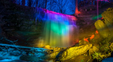 Great Falls Illumination April 23, 2016