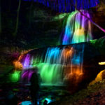 Good Friday Illumination At Sherman Falls